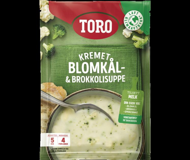 TORO Blomkål- og Brokkolisuppe 65g