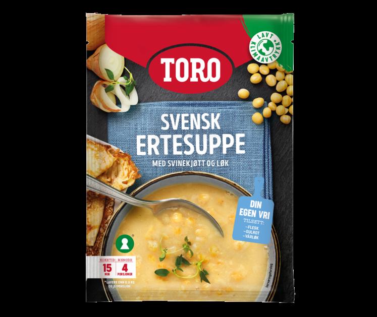 TORO Svensk Ertesuppe 166g