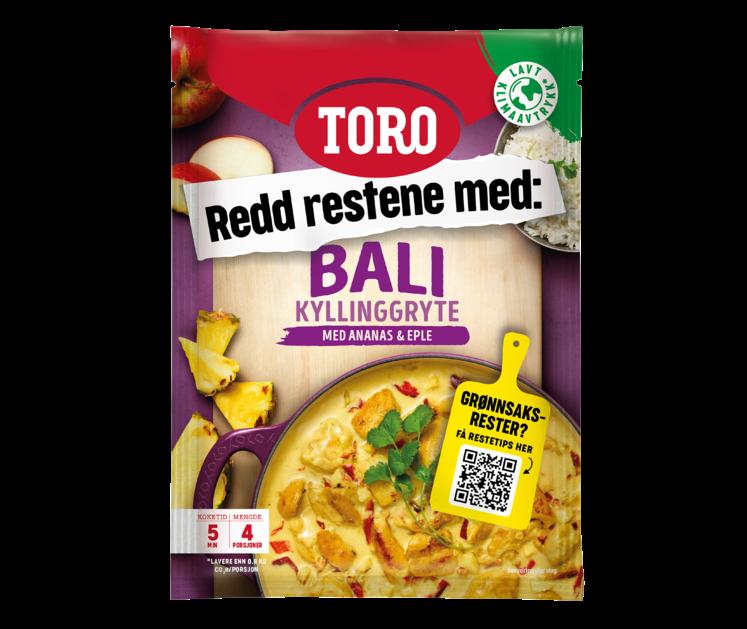 TORO Bali kyllinggryte  91g