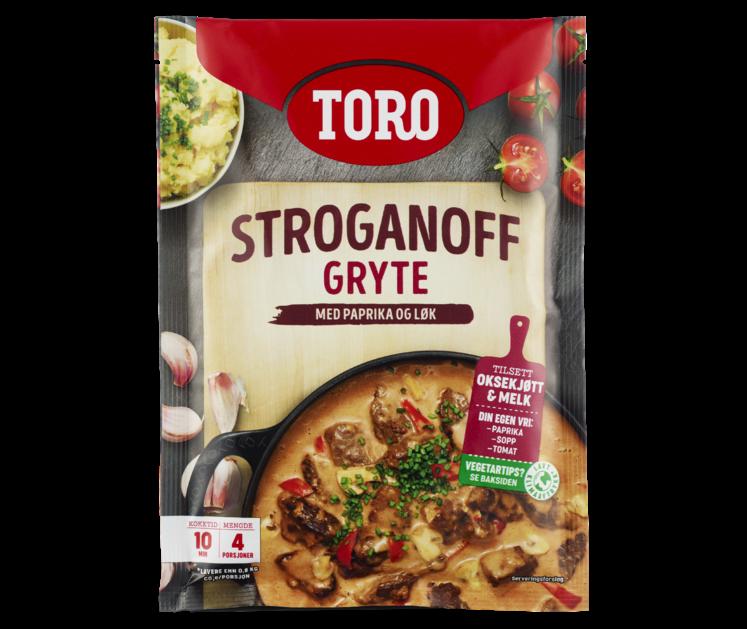 TORO Stroganoff gryte  105g