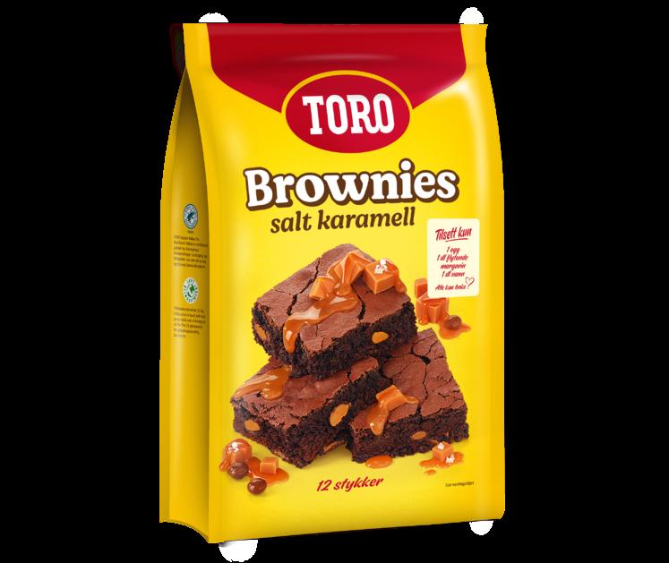 TORO Brownies Salt Karamell 541g