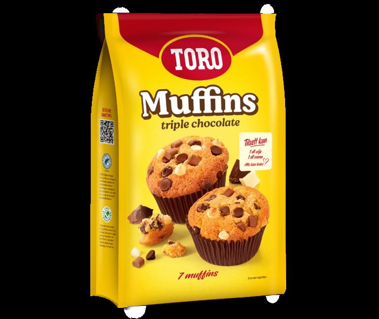 Toro Triple Chocolate Chip Muffins  293 g