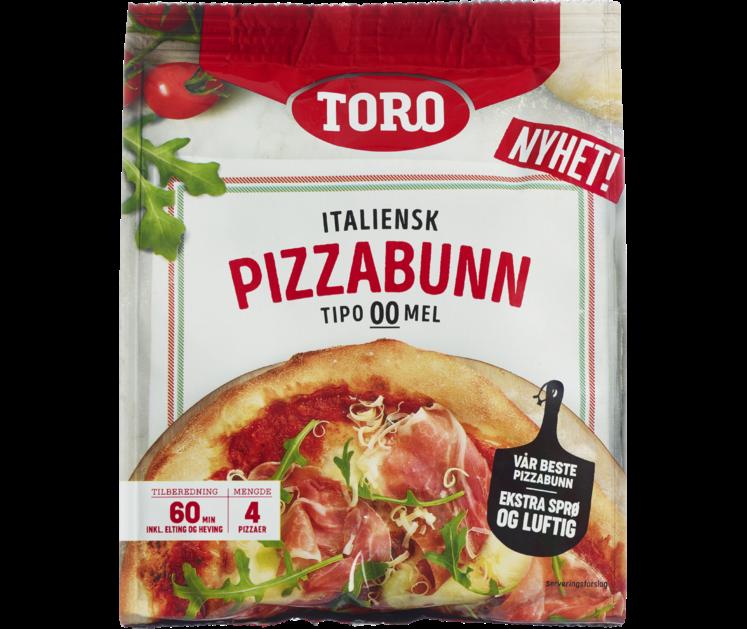 TORO Pizzabunn Italiensk  400g