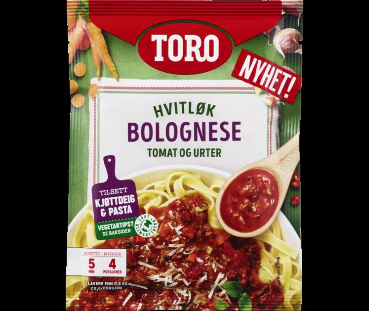 TORO Pastasaus Hvitløk Bolognese 74 g