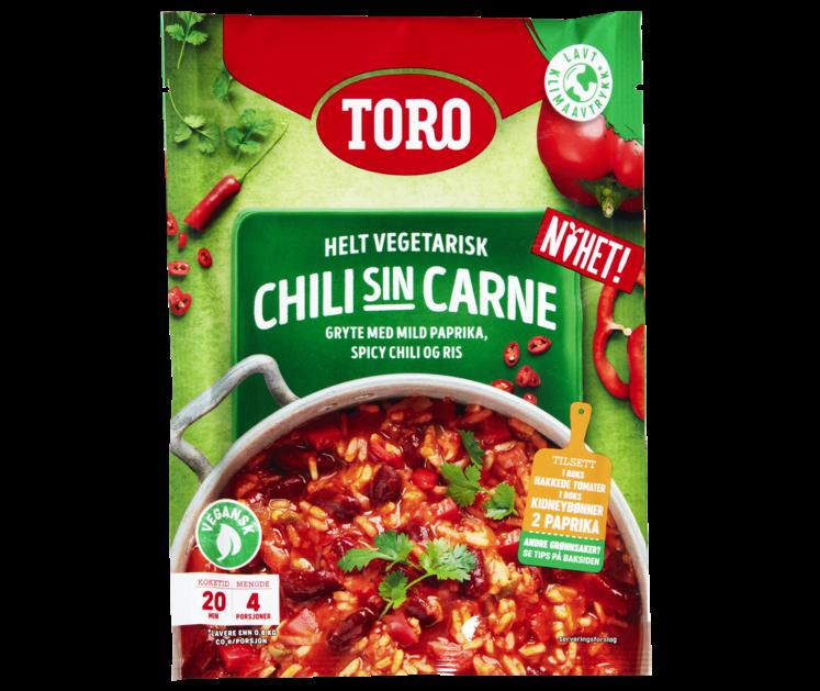 TORO Chili Sin Carne 190g