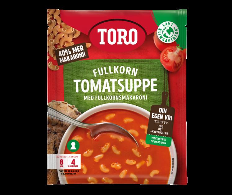 TORO Tomatsuppe Fullkornsmakaroni 127g