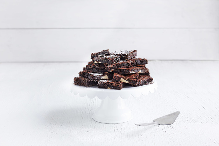Brownies med sjokoladebiter