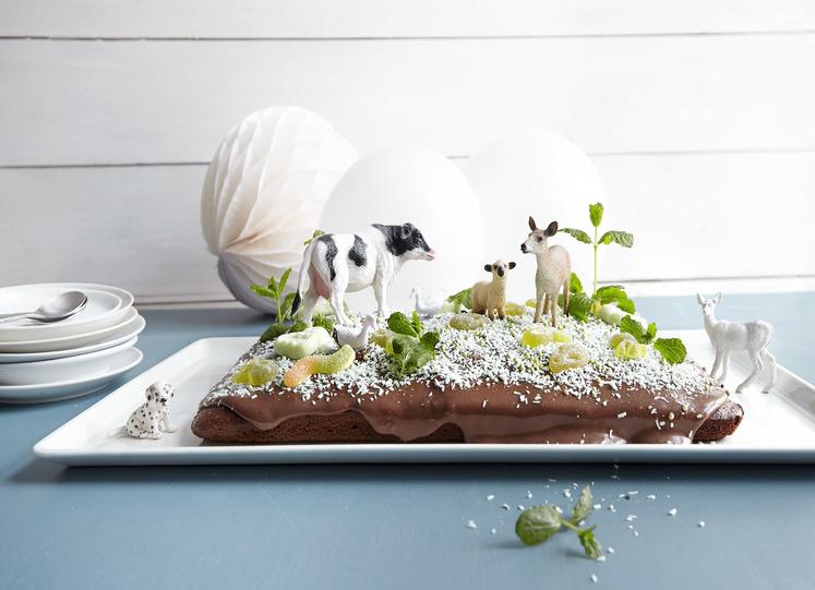 Bondegård kake