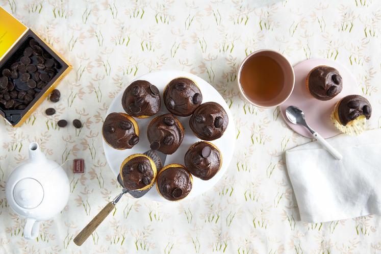 Lyse muffins med mokka