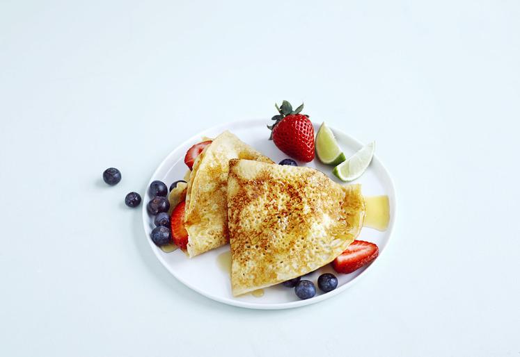 Pannekaker med sirup fra Sør-Amerika