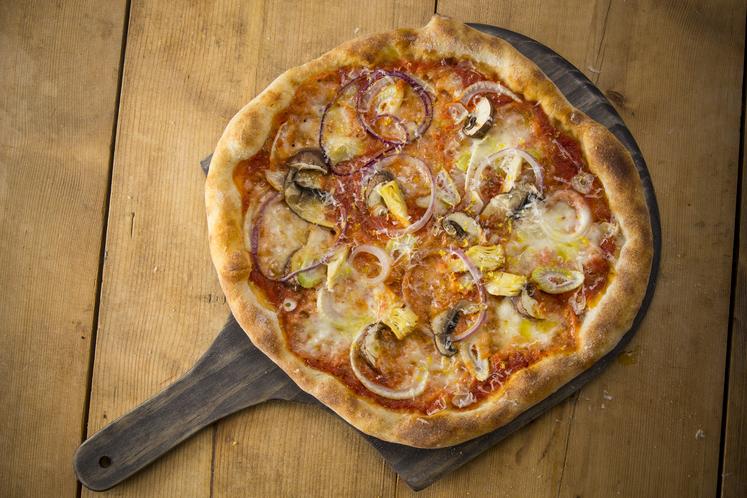 Italiensk vegetarpizza
