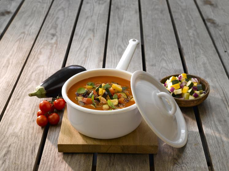 Tomatsuppe med grønnsaker