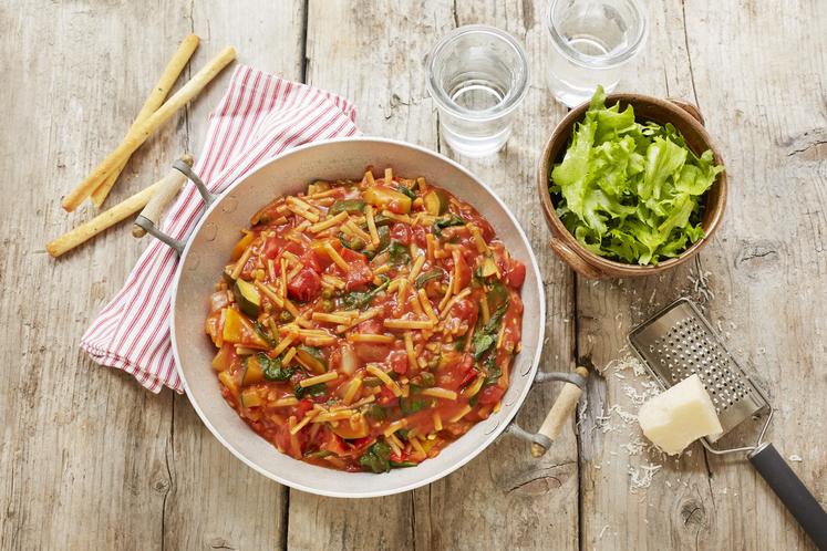 Italiensk gryte med middelhavsgrønnsaker
