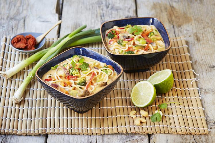 Thaisuppe oppskrift