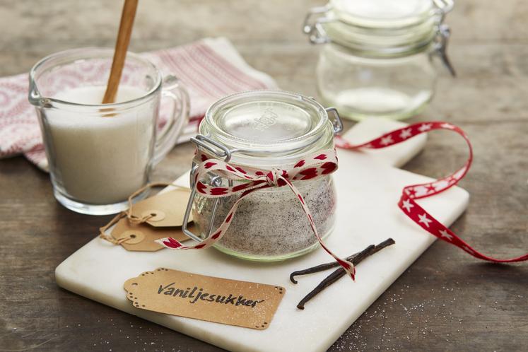 Hjemmelaget vaniljesukker