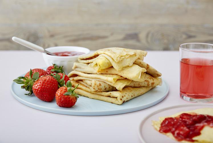 Pannekaker til pannekakedagen