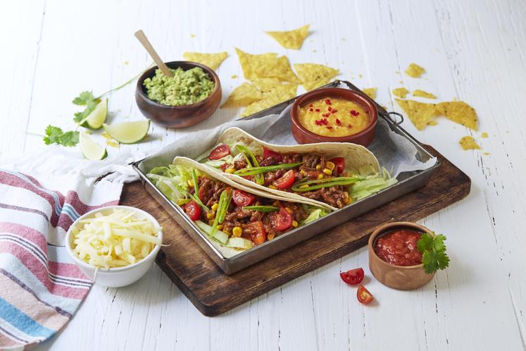 Chili con carne-taco