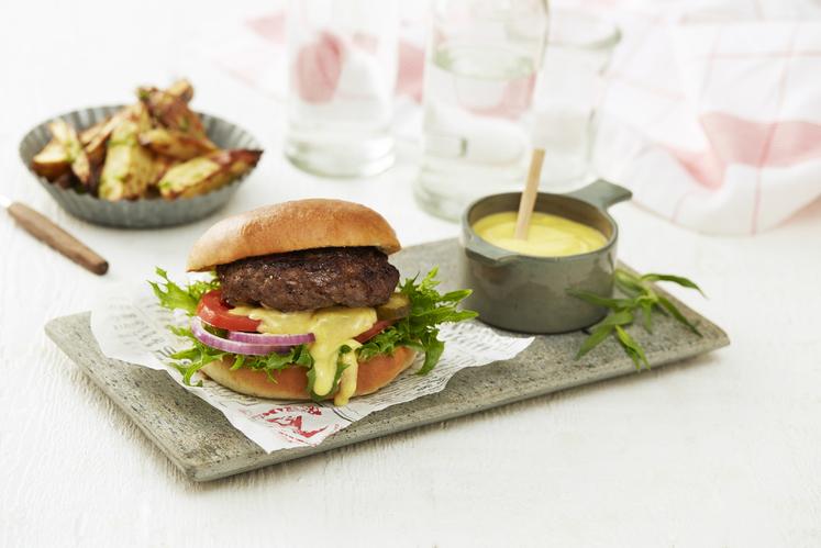 Hamburgere med Bearnaise