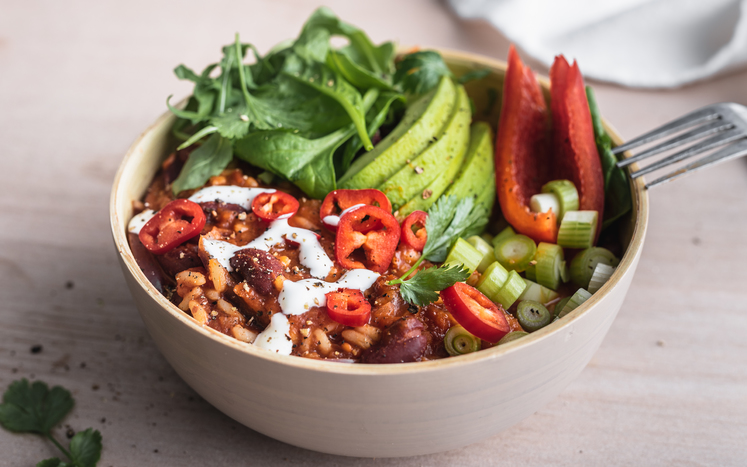 Chili chipotle bowl