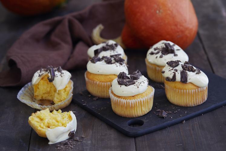 Muffins med gresskarrester